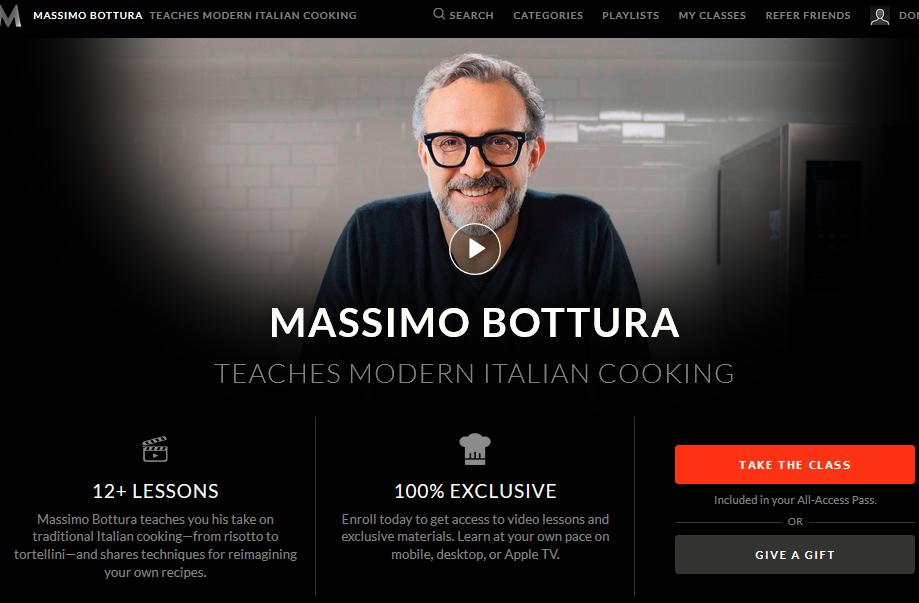 Massimo Bottura Masterclass Review | Education Speaks