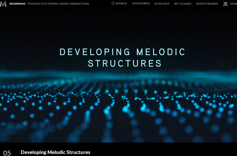 How to develop melodic structures