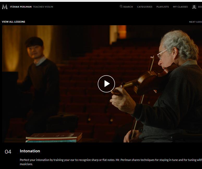 Violin Intonation