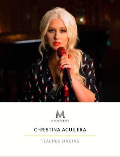 Christina-Aguilera-Singing-Workbook