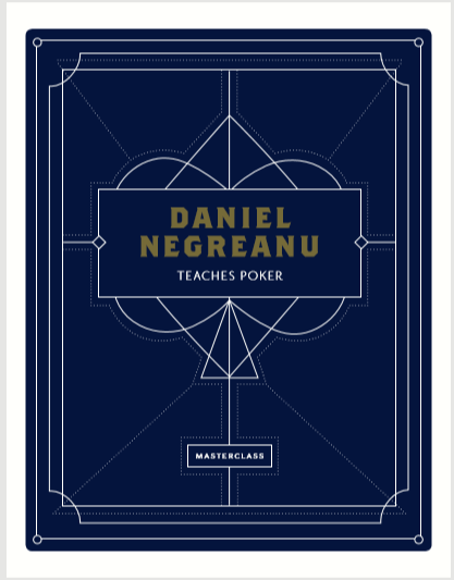 Daniel Negreanu's poker workbook