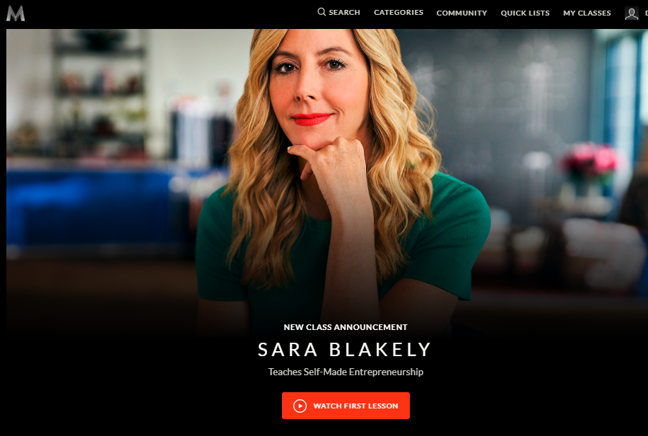 Sara-Blakely-Masterclass-Review