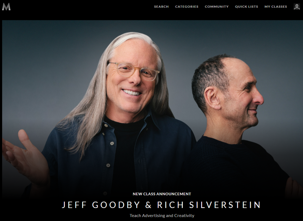 Jeff-Goodby-and-Rich-Silverstein-Masterclass-Review-Screenshot