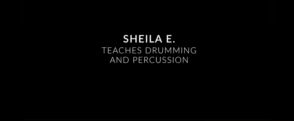 Sheila E TTeaches Drumming and Percussion