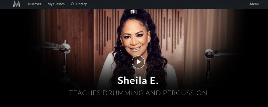 Sheila E Drum Masterclass Review